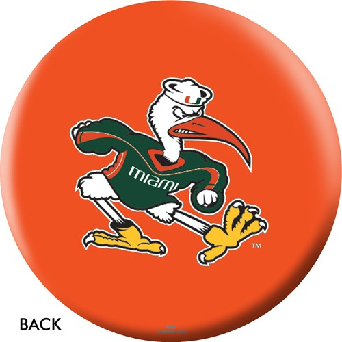 OnTheBallBowling University of Miami Back Image