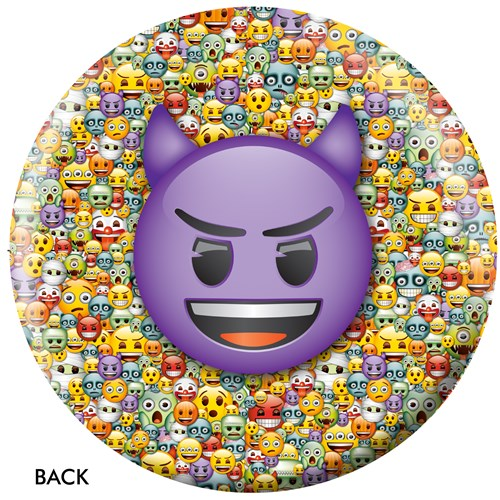 OnTheBallBowling Emoji Steamed-Devil Back Image