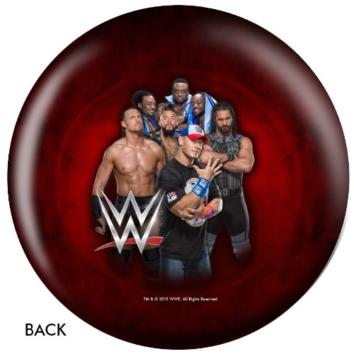 KR WWE Logo Ball Back Image