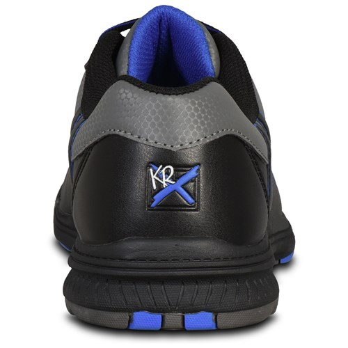 KR Strikeforce Mens Raptor Black/Royal Right Hand Wide Width Back Image