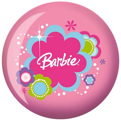 OnTheBallBowling Barbie Pink Back Image