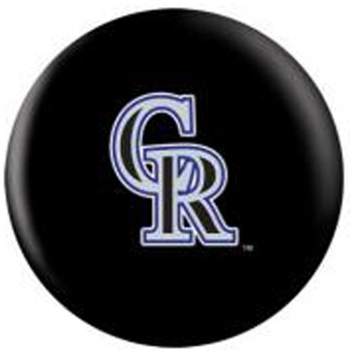 OnTheBallBowling MLB Colorado Rockies Back Image