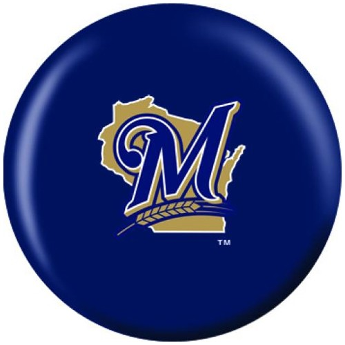 OnTheBallBowling MLB Milwaukee Brewers Back Image