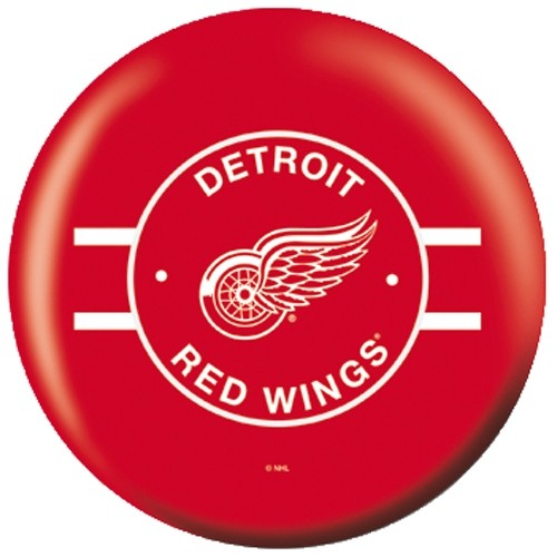 OnTheBallBowling NHL Detroit Red Wings Back Image