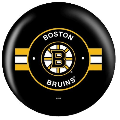 OnTheBallBowling NHL Boston Bruins Back Image