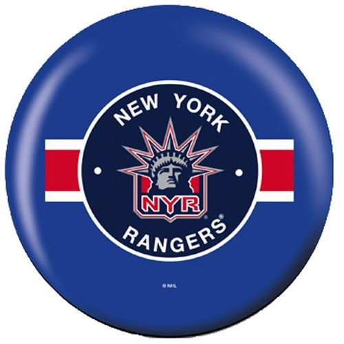 OnTheBallBowling NHL New York Rangers Back Image