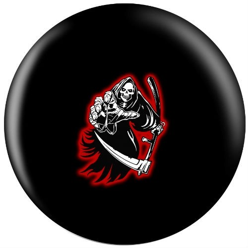 Exclusive Pin Reaper Viz-A-Ball Back Image