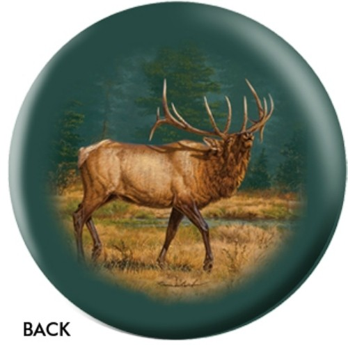 OnTheBallBowling Nature Elk Back Image