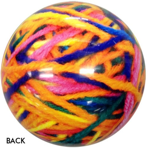 OnTheBallBowling Yarn Ball Back Image