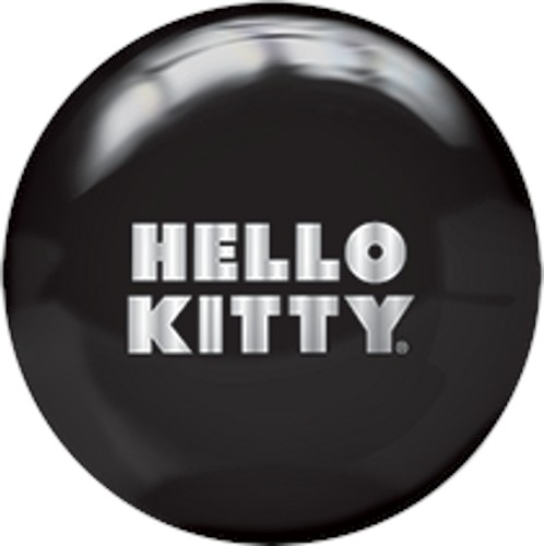Brunswick Hello Kitty Black Viz-A-Ball Back Image