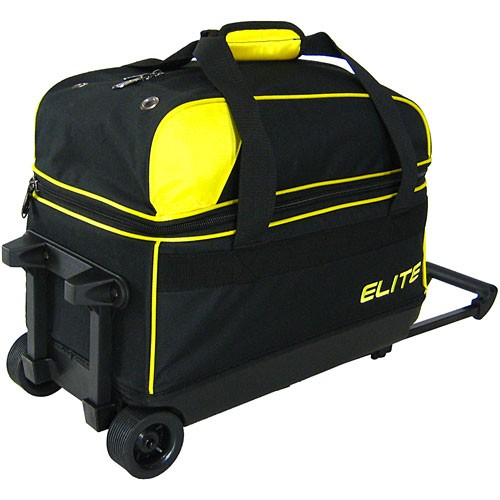 Elite Basic Double Roller Yellow Back Image