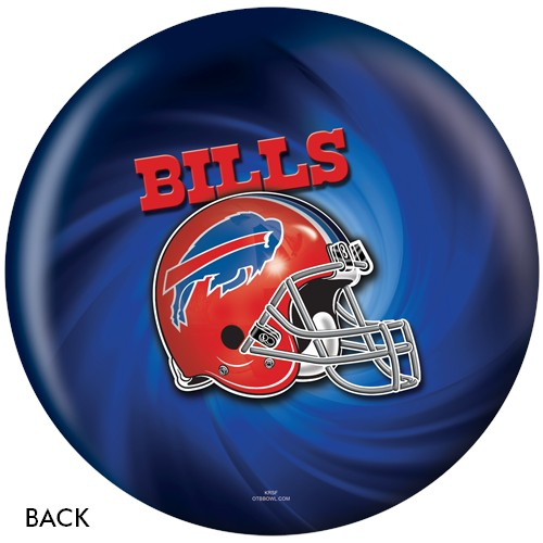 KR Buffalo Bills NFL Ball Back Image