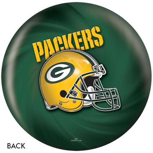 KR Strikeforce Green Bay Packers NFL Ball Back Image