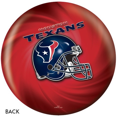KR Strikeforce Houston Texans NFL Ball Back Image