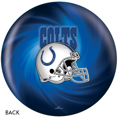 KR Indianapolis Colts NFL Ball Back Image