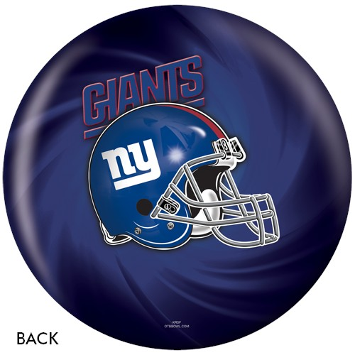 KR New York Giants NFL Ball Back Image