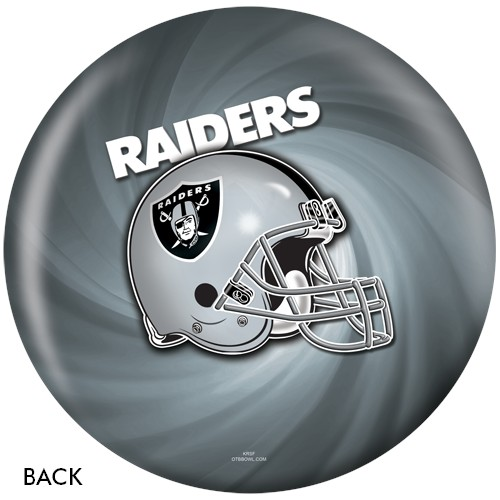 KR Oakland Raiders NFL Ball Back Image