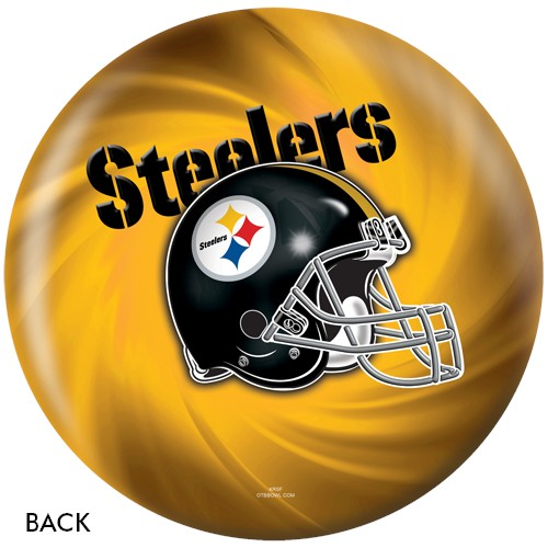 KR Pittsburgh Steelers NFL Ball Back Image