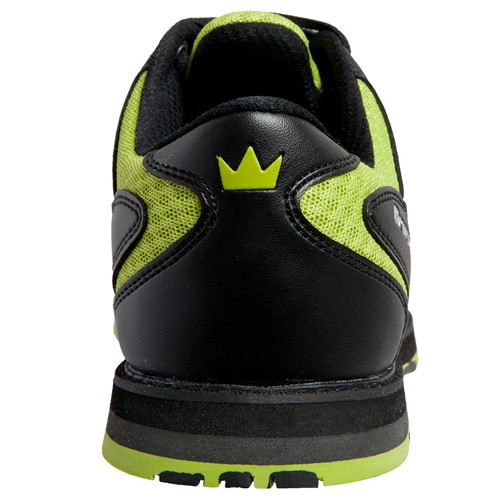 Brunswick Mens Arrow Black/Lime Back Image