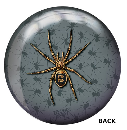 Brunswick Spider Viz-A-Ball Back Image