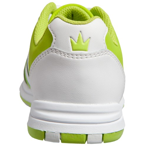 Brunswick Womens Spark White/Lime Back Image
