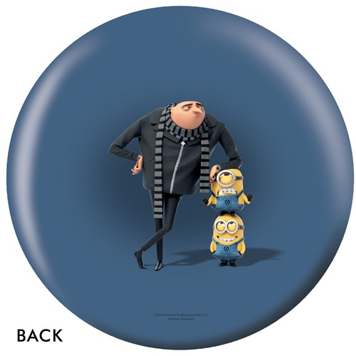OnTheBallBowling Despicable Me Gru Back Image
