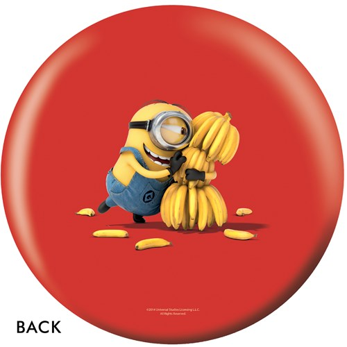 OnTheBallBowling Despicable Me Minions & Bananas Back Image