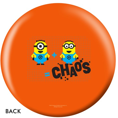 OnTheBallBowling Despicable Me Minions & Math Back Image