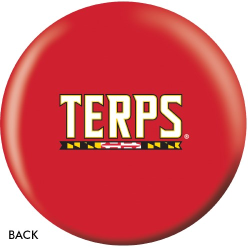 OnTheBallBowling University of Maryland Terps Back Image