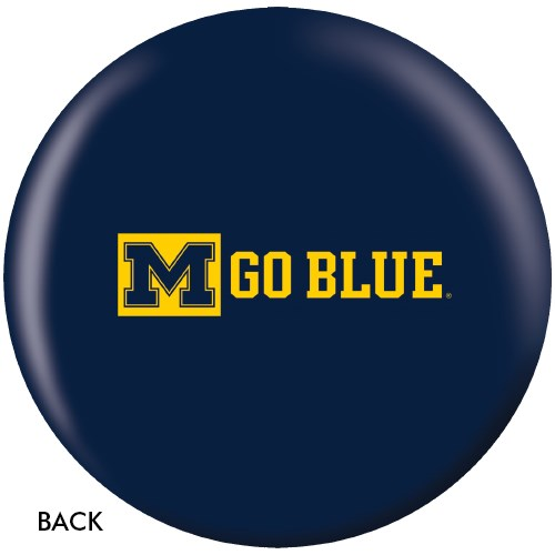 OnTheBallBowling University of Michigan Wolverines Back Image