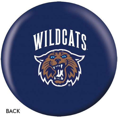OnTheBallBowling Villanova University Wildcats Back Image