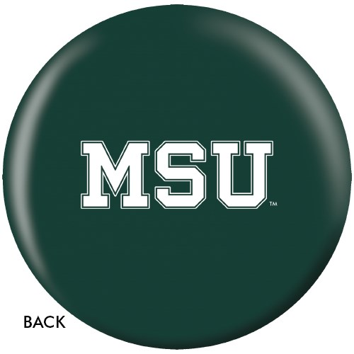 OnTheBallBowling Michigan State Spartans Back Image