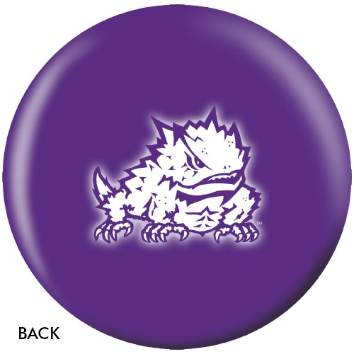 OnTheBallBowling TCU Horned Frogs Back Image
