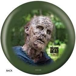 OnTheBallBowling The Walking Dead Zombie Portrait Back Image