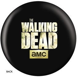 OnTheBallBowling The Walking Dead Logo Ball Back Image