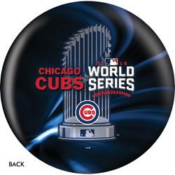 OnTheBallBowling MLB Chicago Cubs World Series Champions 2016 Back Image