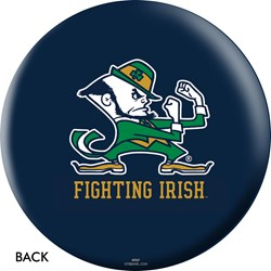 OnTheBallBowling Notre Dame Fighting Irish Back Image