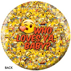OnTheBallBowling Emoji Who Loves Ya Back Image