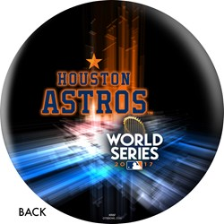 OnTheBallBowling MLB Houston Astros 2017 World Series Champions Back Image