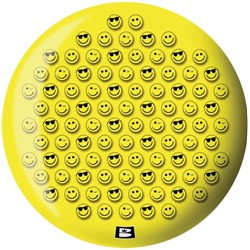 Brunswick Smiley Viz-A-Ball Back Image