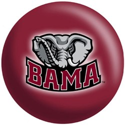 OnTheBallBowling Alabama Crimson Tide Back Image