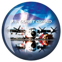 OnTheBallBowling U.S. Military Coast Guard Back Image