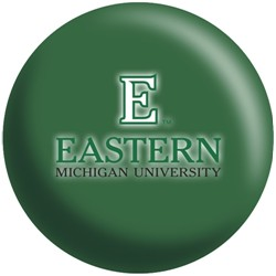 OnTheBallBowling Eastern Michigan University Eagles Back Image