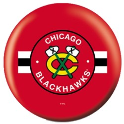 OnTheBallBowling NHL Chicago Blackhawks Back Image