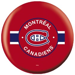 OnTheBallBowling NHL Montreal Canadiens Back Image