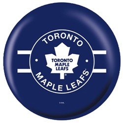 OnTheBallBowling NHL Toronto Maple Leafs Back Image