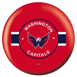 OnTheBallBowling NHL Washington Capitals Back Image