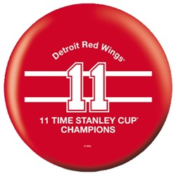OnTheBallBowling NHL Detroit Red Wings Stanley Cup Champs 11 Back Image