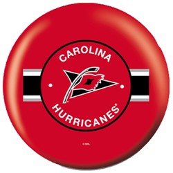 OnTheBallBowling NHL Carolina Hurricanes Back Image