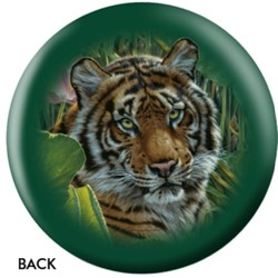 OnTheBallBowling Nature Tiger Back Image